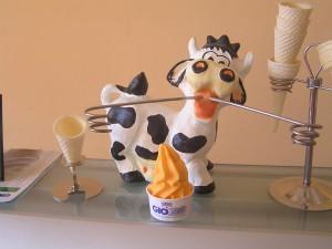 Мороженое приготовленное на Карпиджиани